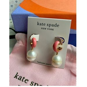 Kate Spade ♠️ Candy Drop Pearl Earrings